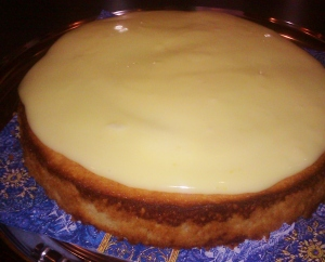 Lemon Streamliner Cake