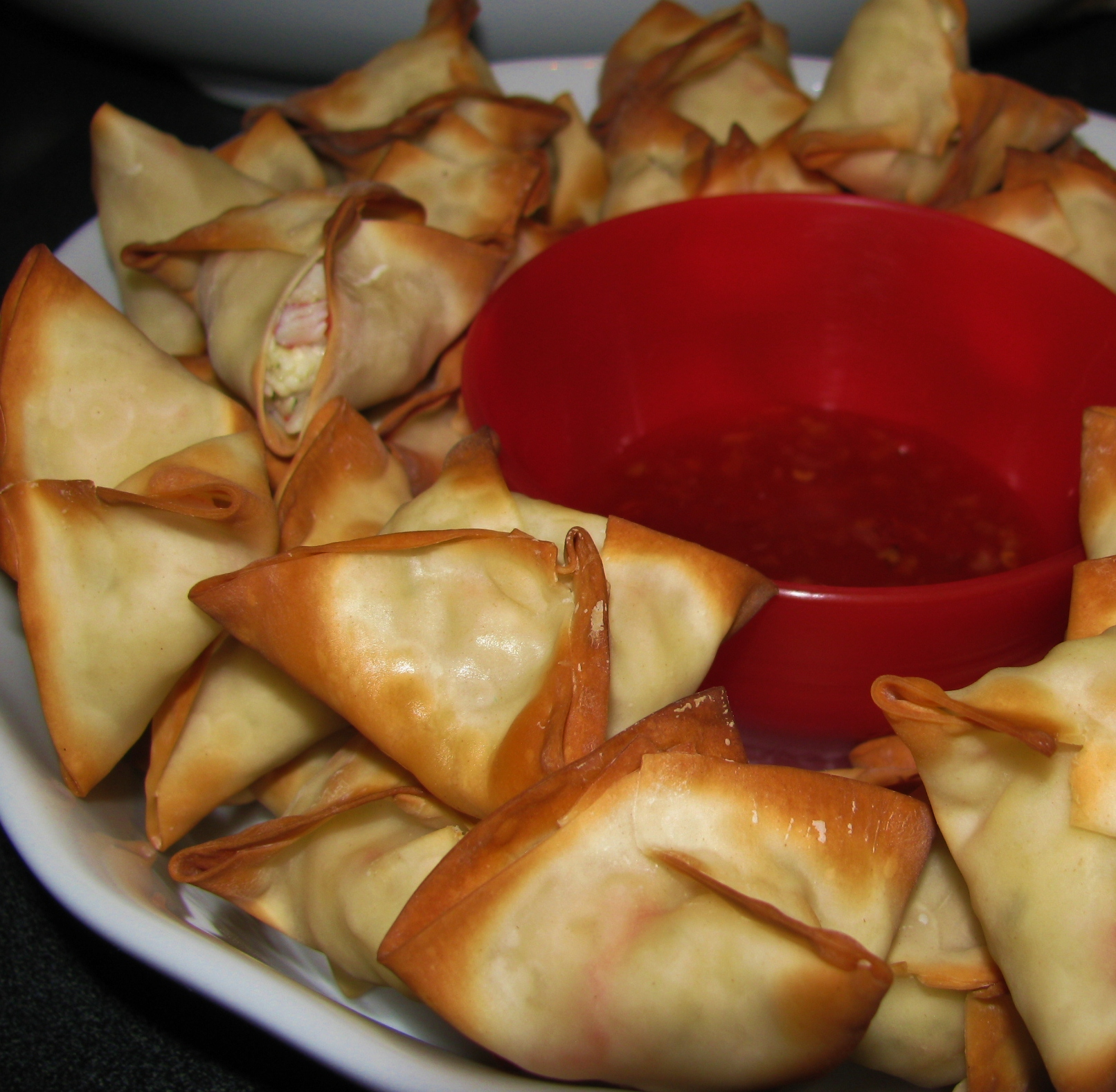 Baked Crab Rangoon | In the Kitchen with Kate