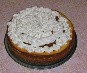 Orange Caramel Cheesecake